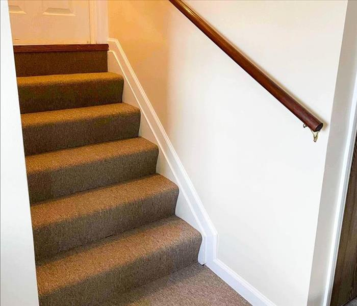 stairs with rug